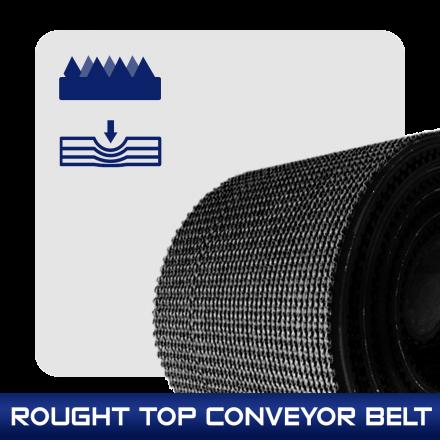 Rough Top Belt สายพานลายดอก
